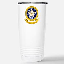 Oklahoma Seal Stainless Steel Travel Mug