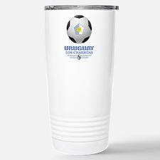 Uruguay Football Travel Mug