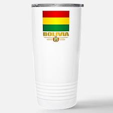 Flag of Bolivia Travel Mug