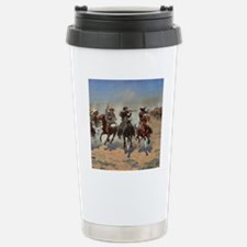 Vintage Cowboys by Remi Stainless Steel Travel Mug