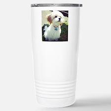 Barney the Cavachon in  Travel Mug