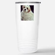 Barney the Cavachon rel Stainless Steel Travel Mug
