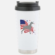 All American Weim Stainless Steel Travel Mug