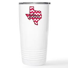 Texas Home Chevron Tee Travel Coffee Mug
