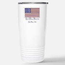 God Bless America Stainless Steel Travel Mug