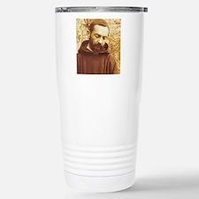 St padre pio Travel Mug