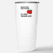 Cute Pre school teacher Stainless Steel Travel Mug