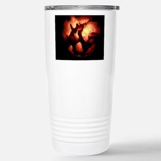 Jackolantern Stainless Steel Travel Mug