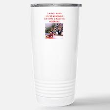 wrestling Travel Mug