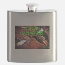 Unique Duck dynasty Flask