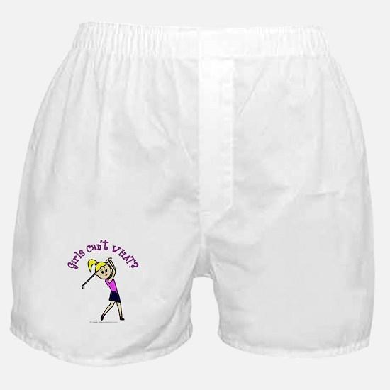 Light Skin Golfer Boxer Shorts