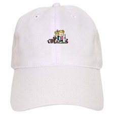 Hiker Girl Baseball Baseball Cap