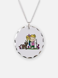 Hiker Girl Necklace