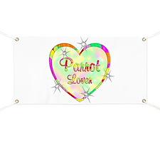 Parrot Lover Banner