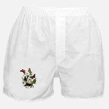 BUTTERFLIES & PURPLE THISTLE Boxer Shorts