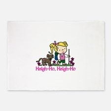 Heigh-Ho 5'x7'Area Rug