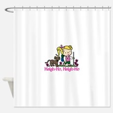 Heigh-Ho Shower Curtain