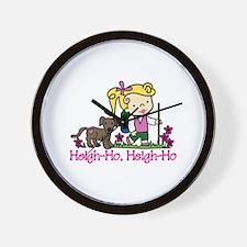 Heigh-Ho Wall Clock