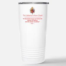 Pope benedict Travel Mug