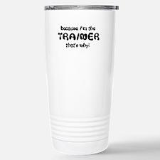 Funny Horse trainer Travel Mug