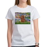 Lilies and Ruby Cavalier Women's T-Shirt