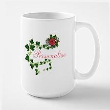 Personalizable. Ivy Rose Large Mug