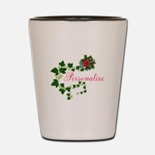 Personalizable. Ivy Rose Shot Glass