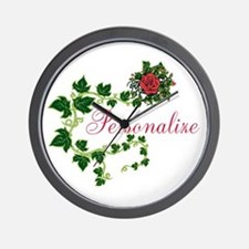 Personalizable. Ivy Rose Wall Clock