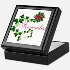 Personalizable. Ivy Rose Keepsake Box