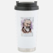 Padre Pio Travel Mug
