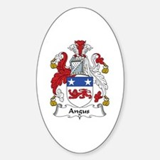Angus Oval Decal