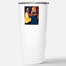 Tiny Tim and Bob Cratch Stainless Steel Travel Mug