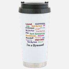 im a gymnast Travel Mug