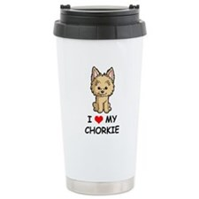 Cute Chorkie dog Travel Mug