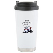 Good Times Westie Travel Coffee Mug
