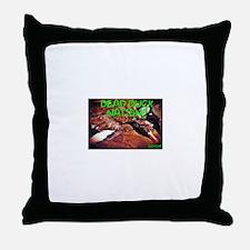 Cute Duck dynasty Throw Pillow