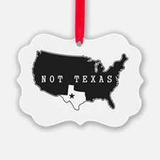 Not Texas Ornament