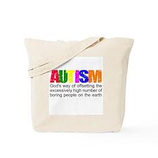 God's autism Tote Bag