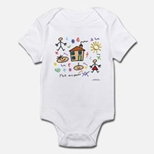 A Masonic gift to a father Mason Infant Bodysuit