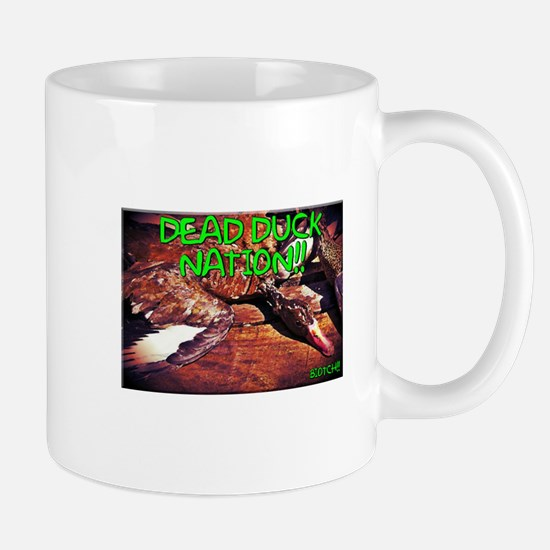 DEAD DUCK NATION!! Mugs