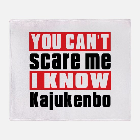 I Know Kajukenbo Throw Blanket