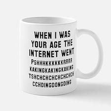 The internet sounded like Mug