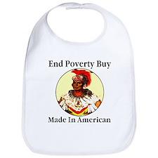 End Poverty Buy Made In Ameri Bib