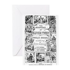 olivertwist4 Greeting Cards