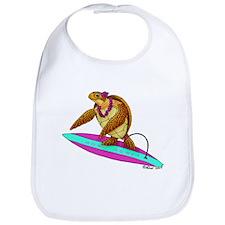 Surfing Turtle Bib