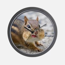 Funny Chipmunk Wall Clock