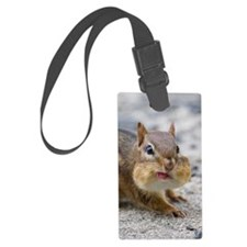 Funny Chipmunk Luggage Tag