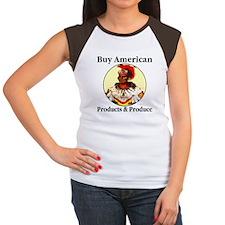 Buy American Products & Produ Women's Cap Sleeve T