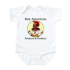 Buy American Products & Produ Infant Bodysuit