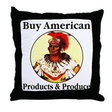 Buy American Products & Produ Throw Pillow